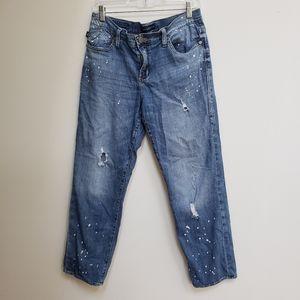 Rock an Republic distressed denim boyfriend jeans